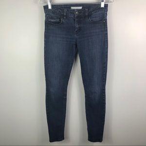 Winona mid rise ankle skinny jeans medium wash